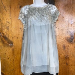 Simply Couture Gray Tunic Size M